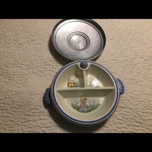 Other - Vintage thermal baby plate